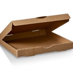 Brown Pizza Box